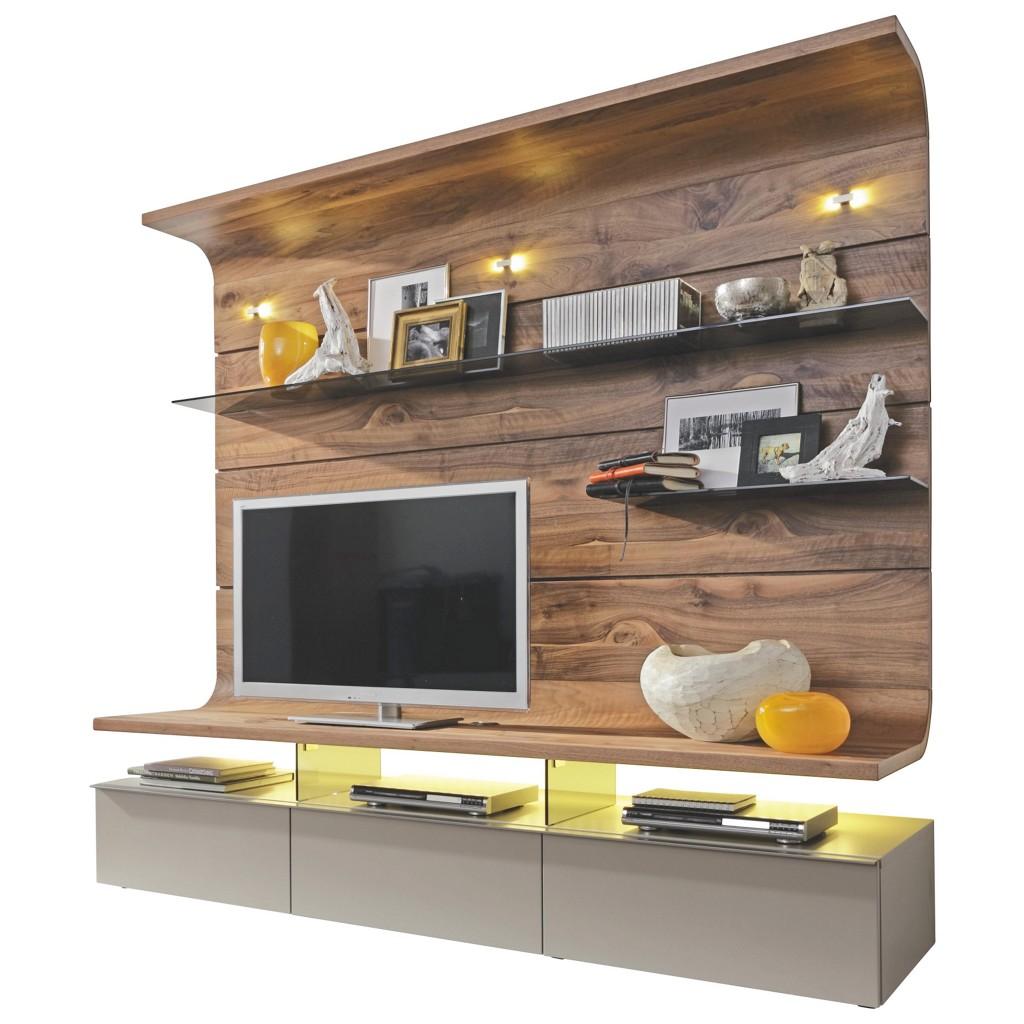 wohnwand nussbaum grau preis vergleich 2016. Black Bedroom Furniture Sets. Home Design Ideas