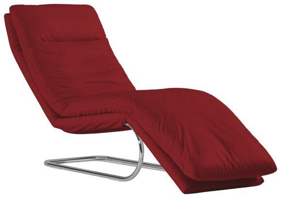 wohnzimmer liege leder:LIEGE in Rot Leder – Liegen – Polstermöbel – Wohnzimmer – Produkte