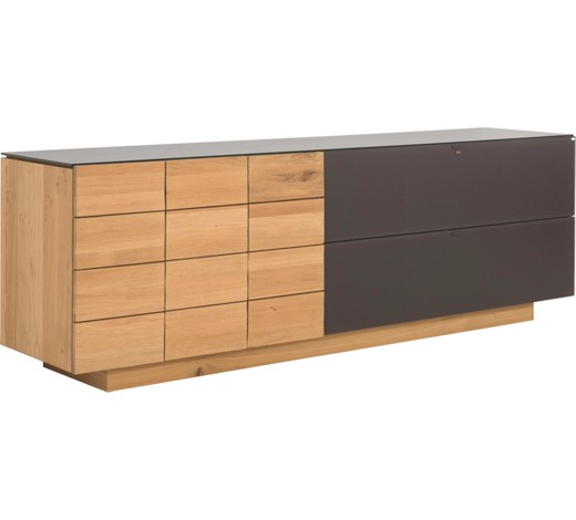 sideboard in wildeiche braun eichefarben sideboards. Black Bedroom Furniture Sets. Home Design Ideas