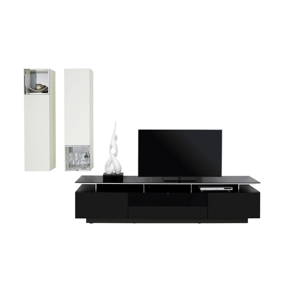 wohnwand nussbaum schwarz preis vergleich 2016. Black Bedroom Furniture Sets. Home Design Ideas