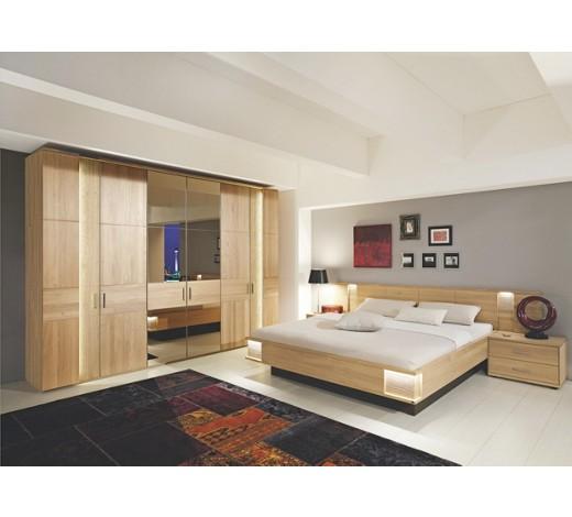 SCHLAFZIMMER in Eichefarben - Komplette Schlafzimmer ...