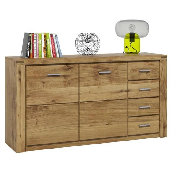 sideboard in eichefarben sideboards kommoden. Black Bedroom Furniture Sets. Home Design Ideas