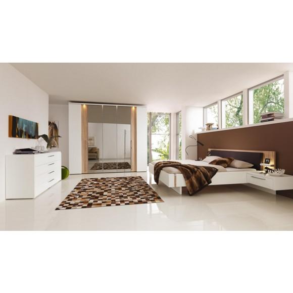 schlafzimmer in braun sonoma eiche wei schlafzimmer schlafen produkte. Black Bedroom Furniture Sets. Home Design Ideas