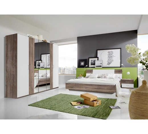 schlafzimmer in eichefarben wei online kaufen xxxlshop. Black Bedroom Furniture Sets. Home Design Ideas
