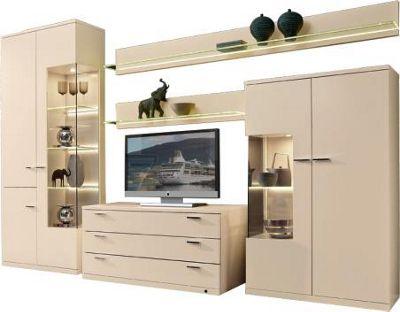 WOHNWAND Creme   Anbauwände   Wohnwände   Wohnzimmer   Produkte