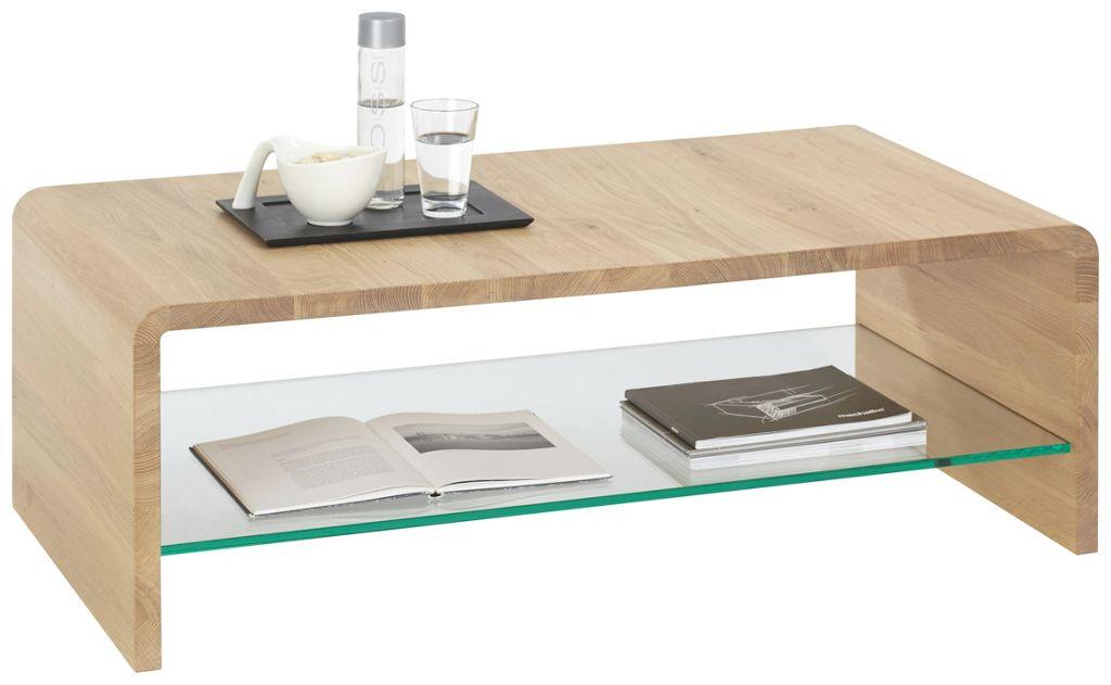 LINEA NATURA Couchtisch Braun 120×48 67×70 cm Holz  553