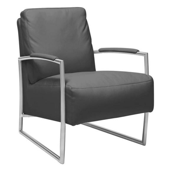 Sessel in schwarz leder metall sessel sitzs cke polsterm bel sofas sessel wohn Lederpflegemittel sofa