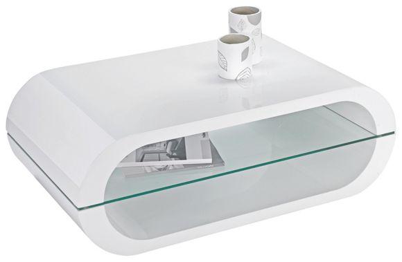 COUCHTISCH in Weiß  Couchtische  Wohnzimmertische