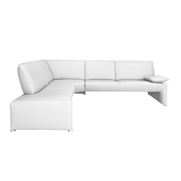 Wohnlandschaft in wei leder polsterm bel polsterm bel sofas sessel wohn esszimmer Lederpflegemittel sofa