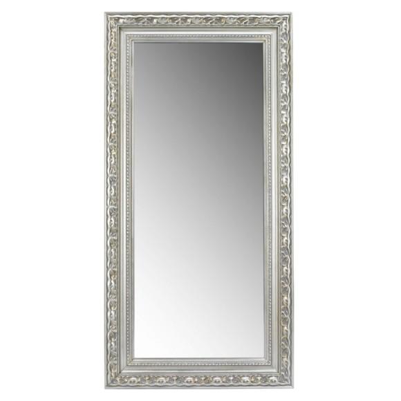 Wandspiegel mit kunstvollem silberrahmen - Spiegel cm ...
