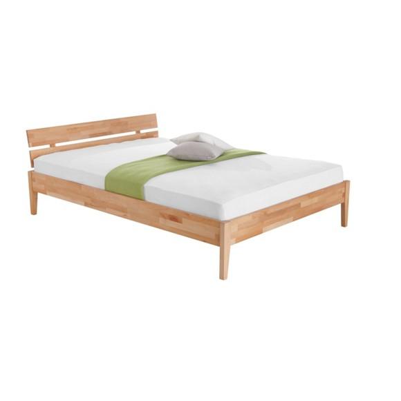 bett in buchefarben doppelbetten betten schlafzimmer. Black Bedroom Furniture Sets. Home Design Ideas