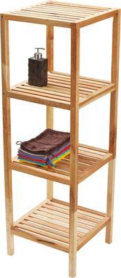 FMD BALI 9 Badezimmer Regal 1. Badezimmerregal Weib Holz : Badezimmerregal  Badregale Badezimmerregale Badezimmer Produkte