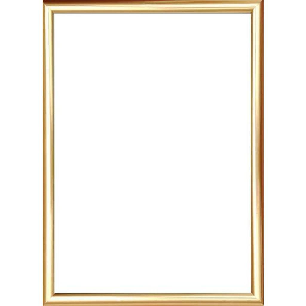 novel bilderrahmen gold 25x31 cm glas kunststoff. Black Bedroom Furniture Sets. Home Design Ideas