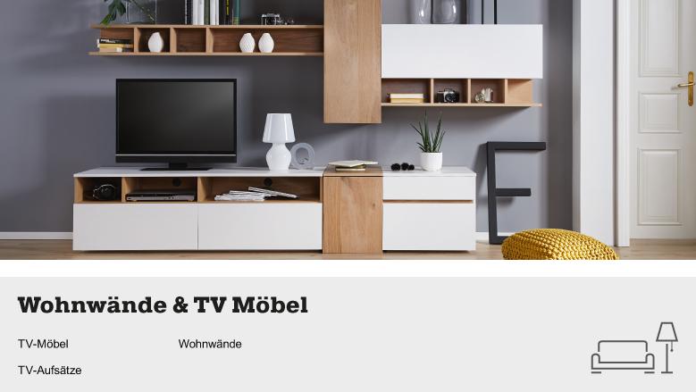 wohnw nde tvm bel online kaufen m max wohnwand dunkelbraun schwarz. Black Bedroom Furniture Sets. Home Design Ideas