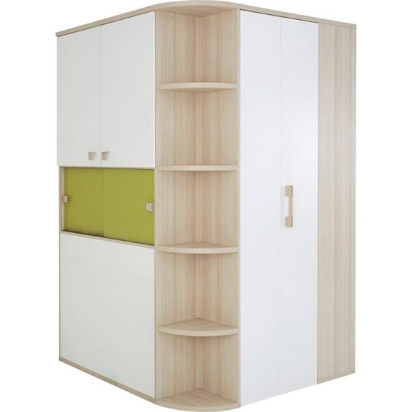 jugendm bel weiss gr n die neuesten innenarchitekturideen. Black Bedroom Furniture Sets. Home Design Ideas