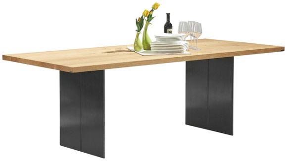Tisch Musterring Nova ~ ESSTISCH in Asteiche Stahl rechteckig  Esstische  Tische  Esszimmer  Prod