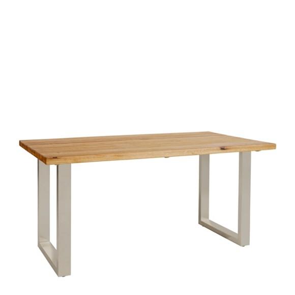 ESSTISCH in Wildeiche Eisen rechteckig - Esstische - Tische ...