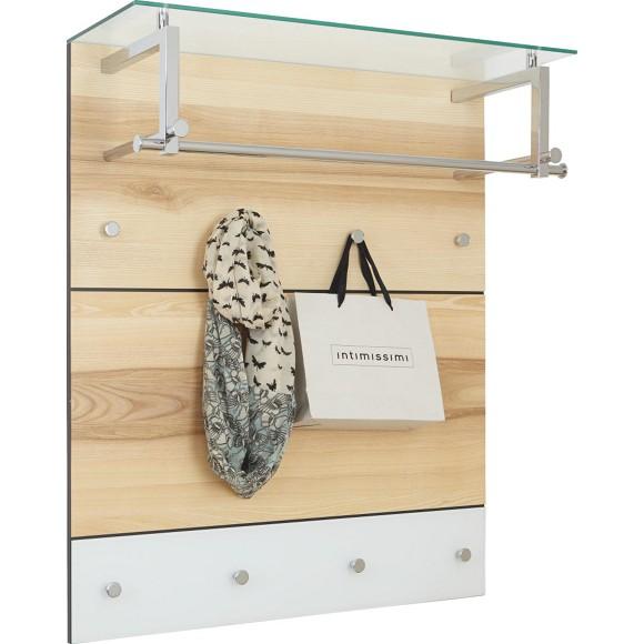 Garderobenpaneel garderoben dielenm bel garderobe for Garderobenpaneel echtholz