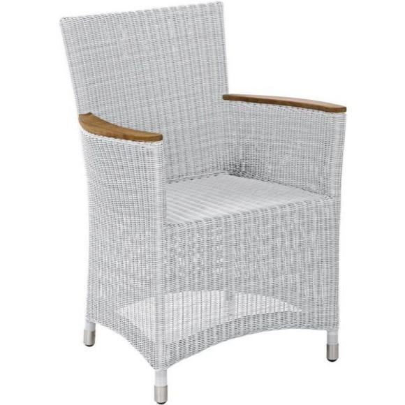 gartenstuhl in grau wei holz kunststoff metall gartenst hle gartenm bel produkte. Black Bedroom Furniture Sets. Home Design Ideas