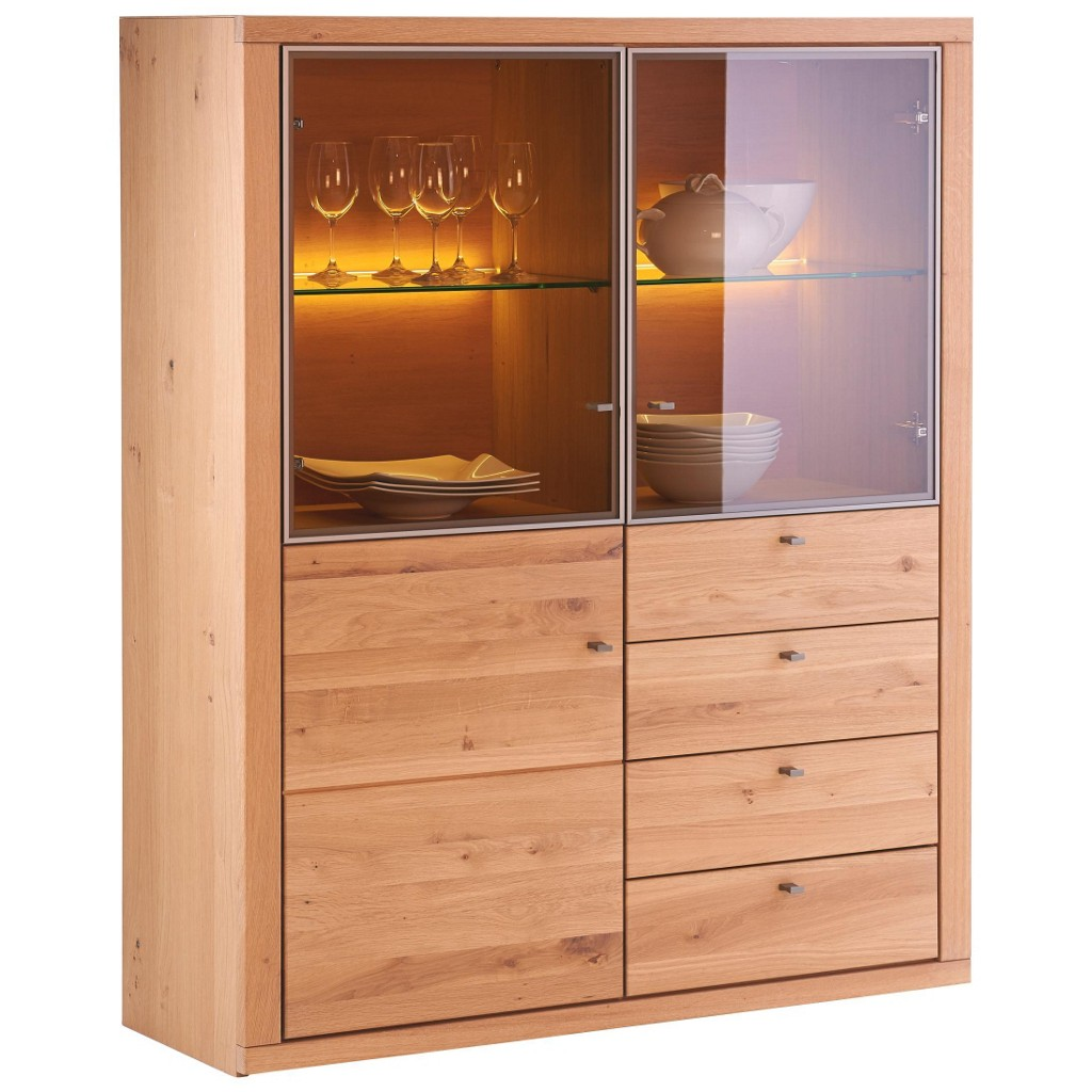 moebel6de wohnzimmer escando modern wo highboard braun. Black Bedroom Furniture Sets. Home Design Ideas
