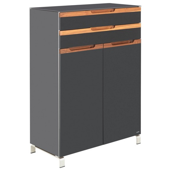 wohnzimmer nussbaum schwarz raum und m beldesign inspiration. Black Bedroom Furniture Sets. Home Design Ideas