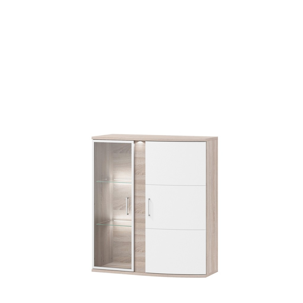 h ngevitrinen weiss preis vergleich 2016. Black Bedroom Furniture Sets. Home Design Ideas