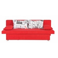 SCHLAFSOFA in Rot Textil (null, image/jpeg)