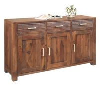 SIDEBOARD in massiv Sheesham Dunkelbraun (null, image/jpeg)