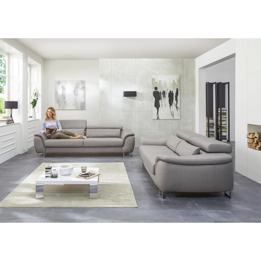 leder sitzgarnitur wohnzimmer. Black Bedroom Furniture Sets. Home Design Ideas