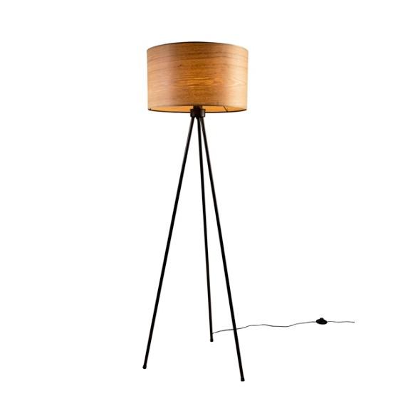 stehleuchte holz metall eschefarben stehleuchten. Black Bedroom Furniture Sets. Home Design Ideas