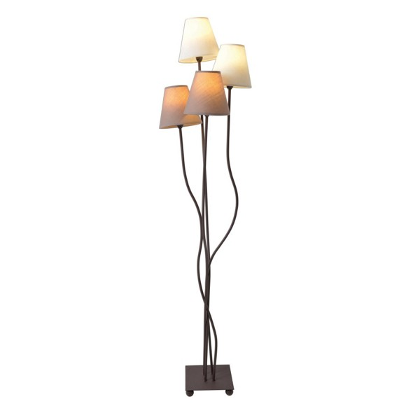stehleuchte textil beige stehleuchten licht produkte. Black Bedroom Furniture Sets. Home Design Ideas