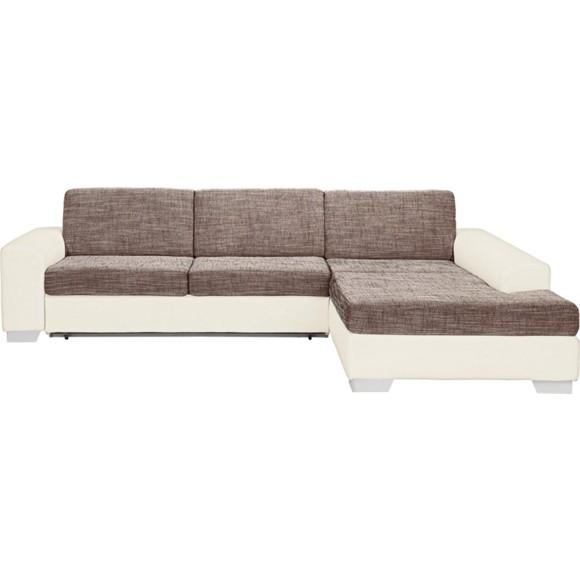 wohnlandschaft braun textil neuesten. Black Bedroom Furniture Sets. Home Design Ideas