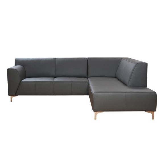 Wohnlandschaft in grau leder polsterm bel polsterm bel sofas sessel wohn esszimmer Lederpflegemittel sofa