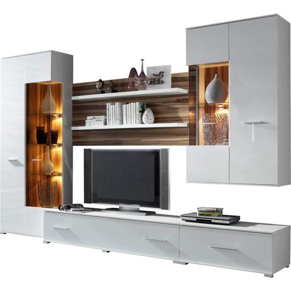 schrankwand bei porta interessante ideen. Black Bedroom Furniture Sets. Home Design Ideas