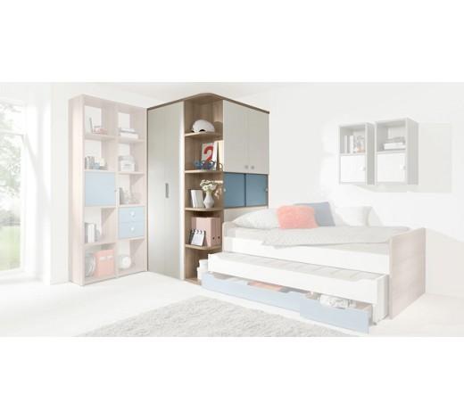 begehbarer eckschrank 5 t rig blau eichefarben wei online kaufen xxxlshop. Black Bedroom Furniture Sets. Home Design Ideas