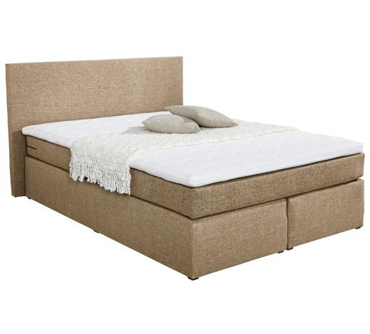 boxspringbett webstoff inkl matratze topper online kaufen xxxlshop. Black Bedroom Furniture Sets. Home Design Ideas