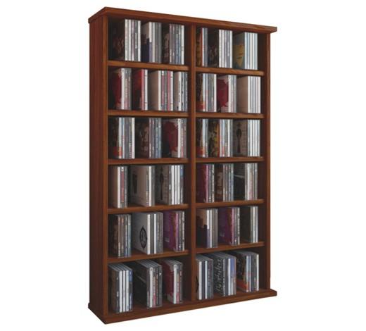 cd regal nussbaumfarben online kaufen xxxlshop. Black Bedroom Furniture Sets. Home Design Ideas