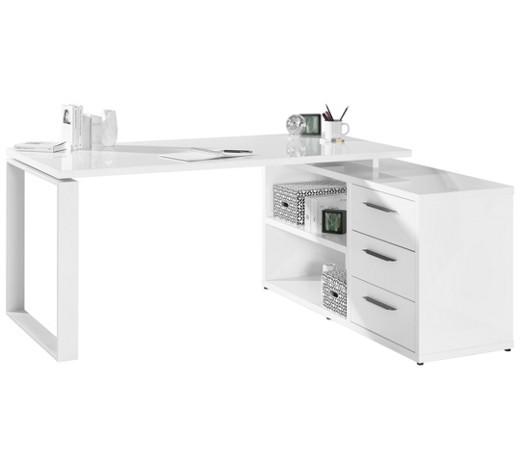 eckschreibtisch wei online kaufen xxxlshop. Black Bedroom Furniture Sets. Home Design Ideas