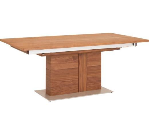 esstisch nussbaum edelstahl furniert rechteckig online kaufen xxxlshop. Black Bedroom Furniture Sets. Home Design Ideas