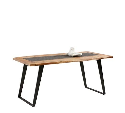 esstisch akazie eisen massiv rechteckig online kaufen xxxlshop. Black Bedroom Furniture Sets. Home Design Ideas