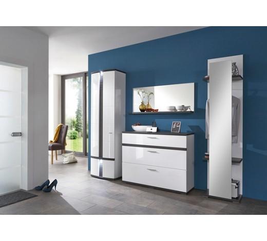 garderobe graphitfarben wei online kaufen xxxlshop. Black Bedroom Furniture Sets. Home Design Ideas