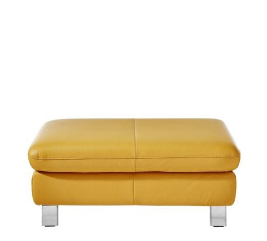 hocker echtleder gelb online kaufen xxxlshop. Black Bedroom Furniture Sets. Home Design Ideas