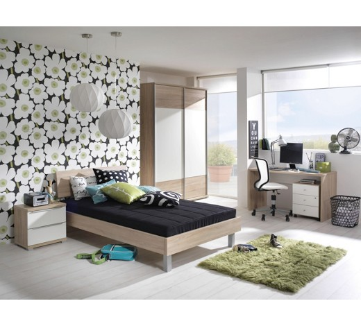jugendzimmer eichefarben wei online kaufen xxxlshop. Black Bedroom Furniture Sets. Home Design Ideas