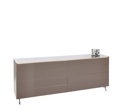 kommode hochglanz braun online kaufen xxxlshop. Black Bedroom Furniture Sets. Home Design Ideas