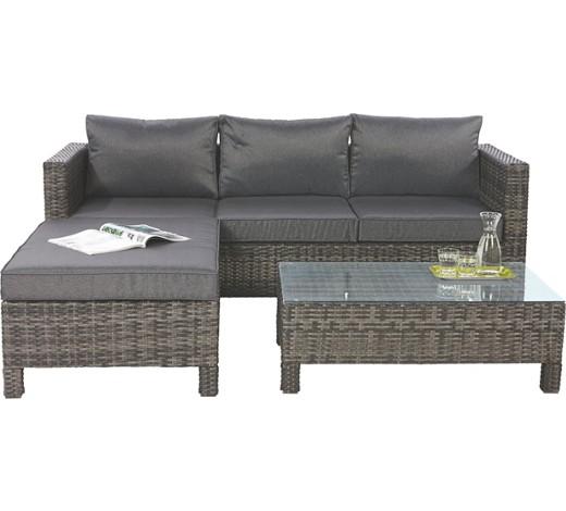gem tliche gartengarnitur in polyrattan von ambia. Black Bedroom Furniture Sets. Home Design Ideas