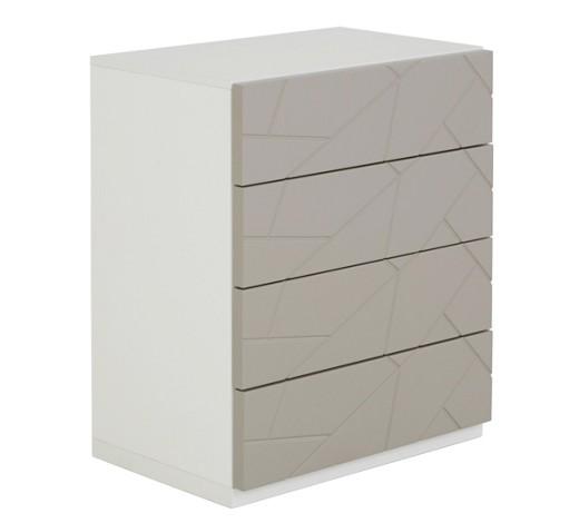 nachtk stchen melaminharzbeschichtet creme grau wei online kaufen xxxlshop. Black Bedroom Furniture Sets. Home Design Ideas