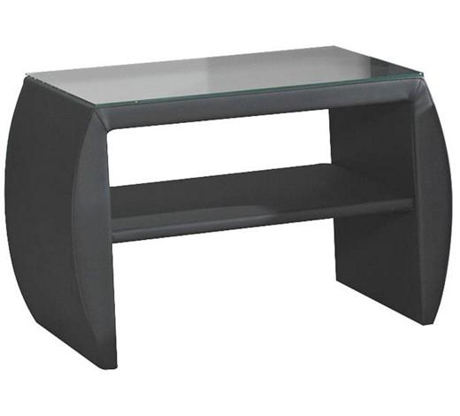 nachtk stchen lederlook grau online kaufen xxxlshop. Black Bedroom Furniture Sets. Home Design Ideas