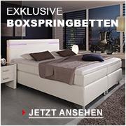 Exklusive Boxspringbetten