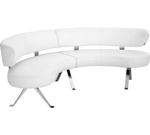 rundbank echtleder wei online kaufen xxxlshop. Black Bedroom Furniture Sets. Home Design Ideas