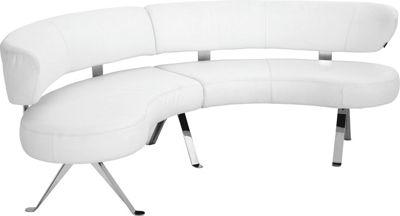 Rundbank In Leder Weiß Online Kaufen ➤ Xxxlutz, Esszimmer